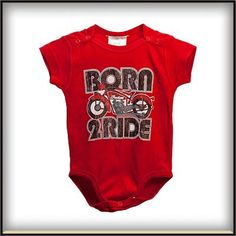 BORN 2 RIDE ONESIE