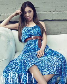 Tiffany - SNSD Grazia Korea