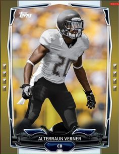 TOPPS-HUDDLE-GOLD-AS-ACTION-BOOST-ALTERRAUN-VERNER-BUCCANEERS-ONLY-83-EXIST