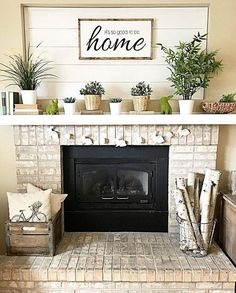 44 best farmhouse fireplace mantels images in 2019 christmas rh pinterest com