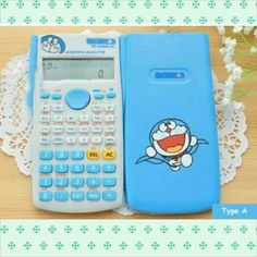 Calculator Scientifi Doraemon 65k Sin, cos, tan function Very cute and functionable