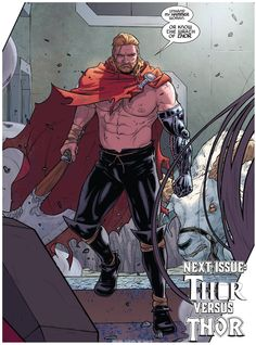 Thor #3 interior art by Russell Dauterman *