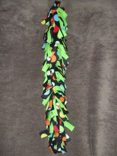 Fun Fringed Fleece Vine for sugar gliders cage by TheLeashICanDo, $6.00