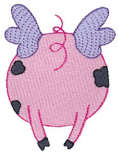 Embroidery | Free Machine Embroidery Designs | Bunnycup Embroidery | When Pigs Fly