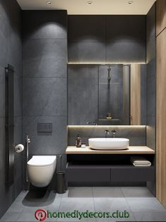 35 The Best Modern Bathroom Interior Design Ideas - Modern Interior Design Washroom Design, Bathroom Design Luxury, Bathroom Layout, Modern Bathroom Design, Modern Design, Kitchen Design, Modern Toilet Design, Interior Design Toilet, Modern Luxury Bathroom
