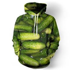 Pickle Hoodie @Sarah Elizabeth OMG!! was looking for pickling recipes and found this gem!! Need one!!