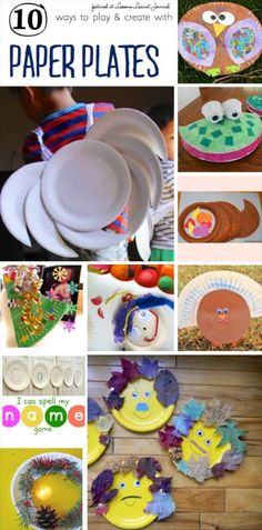 10 reasons to love paper plates even more. So easy and fun. ~via Lessons Learnt Journal