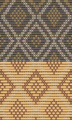 Types of tukutuku designs Flax Weaving, Willow Weaving, Abstract Sculpture, Wood Sculpture, Bronze Sculpture, Maori Patterns, Polynesian Art, Maori Designs, Maori Art