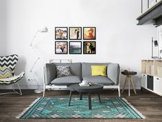 Faça quadros com suas fotos e tenha uma decoração única. Quadros com moldura preta 34x34cm (imagem 30x30cm) | Crie quadro com suas fotos http://www.onthewall.com.br/ #quadrocomfoto #canvas #moldura