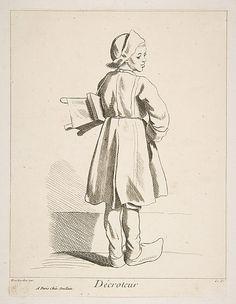 Shoeblack Anne Claude Philippe de Tubières, Comte de Caylus  (French, Paris 1692–1765 Paris)