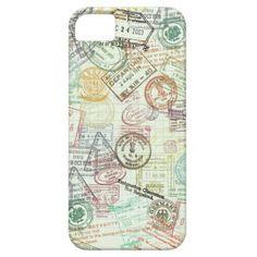Passport Stamp iPhone 5 Case