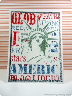4th of July New York Patriotic Card