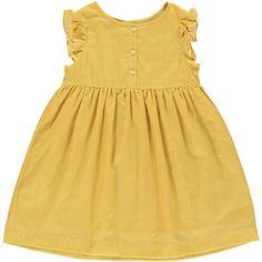 Poppy Dress - Yellow - Poppy Rose
