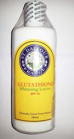 #StDalfour Beauty Skin Whitening #Glutathione Lotion SPF 15 #SkinLightening 250ml