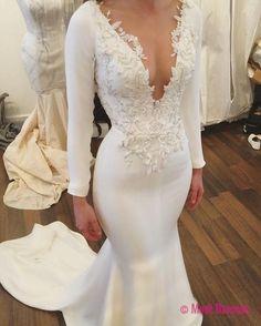 Mermaid Wedding Dresses,Long Sleeves Wedding Dresses,Lace Wedding Dresses,Wedding Dresses PD20186039