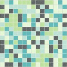 I Love Color Collection: Atelier Glass Mosaic Tile Blend, sold by the sheet.