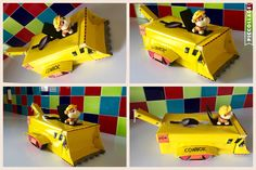 Rubble on the Double! Paw Patrol Valentine's Box.