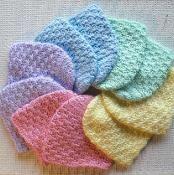 Newborn Caps - Baby Hats - via @Craftsy