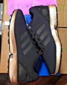033fedd1706f4 ... switzerland adidas originals zx flux w core black copper gold metallic  s78977 womens 6 10 7ad59