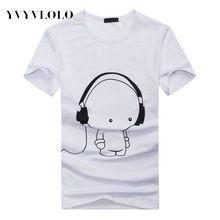 Yvyvlolo 2016 ropa de la marca camiseta vestido de hombre Casual Anime Bape  3D hombres camiseta 0f0c8003d5c