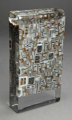 Giles Bettison Billet #3 Fused Glass, Stained Glass, Arctic Fox Hair Color, Kiln Formed Glass, Contemporary Home Decor, How To Dry Basil, Color Patterns, Glass Art, It Works
