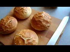 Házi zsemle sütés egyszerűen - YouTube Ciabatta, Brunch, Love Is Sweet, Diy Food, Macarons, Bread Recipes, Bakery, Paleo, Good Food