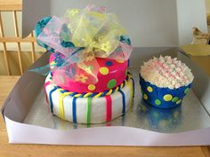 Gâteau fillette 1 an