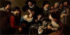 El charlatán sacamuelas. Theodor Rombouts. 1620-1625. Localización:Museo Nacional del Prado (Madrid). https://painthealth.wordpress.com/2015/11/20/el-charlatan-sacamuelas/