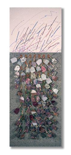 Fiber Art Nature's Palette No. 16.1 ON SALE par LauriedillKocher, $679.00