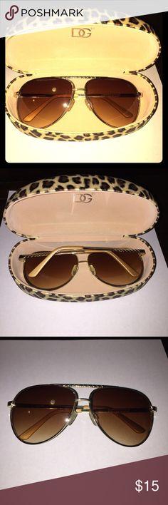 Kardashian Kollection aviator sunglasses Kardashian Kollection aviator sunglasses Kardashian Kollection Accessories Sunglasses