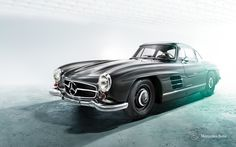 #Mercedes 300 SL Gullwing 125 Years Celebtration Campaign