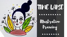 ILLUSTRATION SPEED DRAWING - WITH PROMARKER /  ILLUSTRAZIONE IN TIME LAPS... #illustration #speed drawing #how to draw