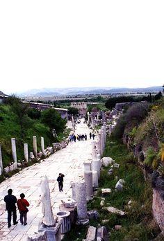 Been here to The ruins of Beautiful Ephesus - Turkey