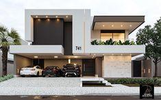 Top modern house designs ever built! Best Modern House Design, Modern Exterior House Designs, Modern House Facades, Modern Minimalist House, Bungalow House Design, House Front Design, Modern Architecture House, Modern House Plans, Luxury Modern House