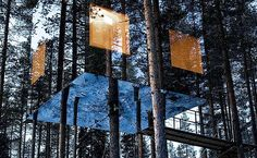 Treehotel in Harads, North Sweden, Sweden