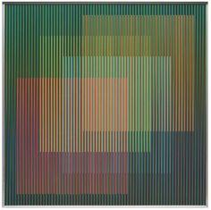 Physichromie 1676, 2010 (Carlos Cruz-Diez), Courtesy of Espace Meyer Zafra @ Art Paris Art Fair - 26th > 29th March 2015 - Grand Palais - http://www.artparis.com/fr/artwork/zG8107c3
