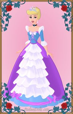 Cinderella as Queen. Done with Heroine Creator by ~AzaleasDolls Queen Cinderella Disney Princess Art, Disney Princess Dresses, Disney Nerd, Disney Outfits, Disney Style, Disney Love, Disney Fashion, Disney Paper Dolls, Alternative Disney Princesses