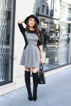 Jessica Ricks: Fashionable Accessories for Sophisticated Women – Glam Radar - Jessica Ricks: Fashionable Accessories for Sophisticated Women – Glam Radar Jessica Ricks: Fashionable Accessories For Sophisticated Women Jessica Ricks, Skirt Fashion, Fashion Outfits, Net Fashion, Fashion Boots, Fall Fashion, Style Fashion, Hapa Time, Over Boots