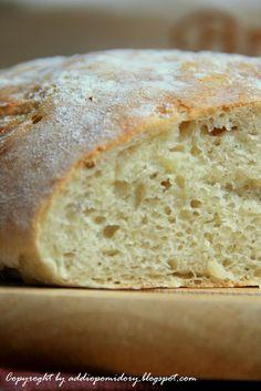 addio pomidory: Chleb drwala. Bez zagniatania. Szybki, prosty i wyjątkowy.