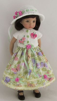 "OOAK Outfit for Effner 13"" Little Darling"
