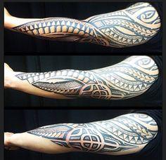Marquesan tattoos – Tattoos And Tattoos Skull, Body Art Tattoos, Tribal Tattoos, Sleeve Tattoos, Maori Tattoos, Great Tattoos, New Tattoos, Tattoos For Guys, Polynesian Tattoo Sleeve