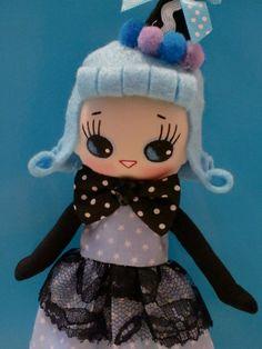 Japanese Vintage Pose Doll, Big Eyes Dolly, Halloween