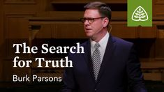 Burk Parsons: The Search for Truth - YouTube The Search, Reformed Theology, Know The Truth, Meaning Of Life, Privacy Policy, Meant To Be, Teaching, Youtube, Education