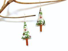 Festive cinnamon stick Christmas tree holiday #ornament #Christmas #cinnamonstick by NancyEllenStudios