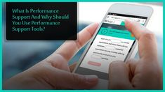 What Is #Performance #Support And Why Should You Use #Performance #Support #Tools? #PSTs