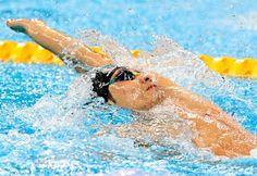 入江の力泳 :フォトニュース - リオ五輪・パラリンピック 2016:時事ドットコム