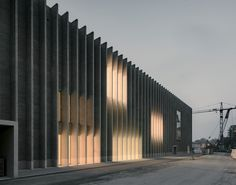 Barozzi Veiga designs Musée cantonal des Beaux-Arts Lausanne with ridged brick facade Chur, Tianjin, Architectural Section, Architectural Features, Lausanne, Bauhaus, David Adjaye, Basement Floor Plans, Villa