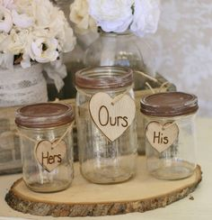 Mason jars for unity sand ceremony.thought unity sand was a good idea on the beach since it will be windy, can use something other than Mason Jars. Wedding Sand, Camo Wedding, Rustic Wedding, Our Wedding, Dream Wedding, Wedding Stuff, Wedding Ceremony, Beach Ceremony, Fantasy Wedding