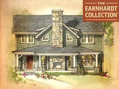 Giant Sequoia Home Plan - Earnhardt Collection™ by Schumacher Homes  Love this model house
