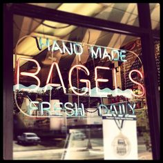 Fresh bagels daily at Bagelwich in Verona, NJ. Series premieres January 2015 on TV Land. Visit #YoungerTV at www.youngertv.com.